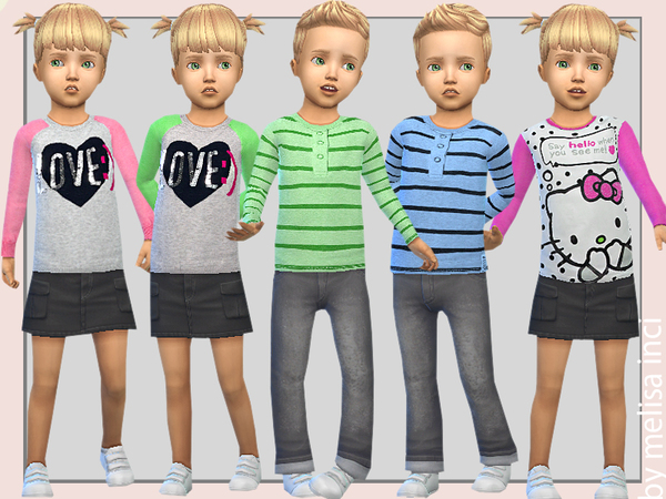 Toddler Sweater Tops