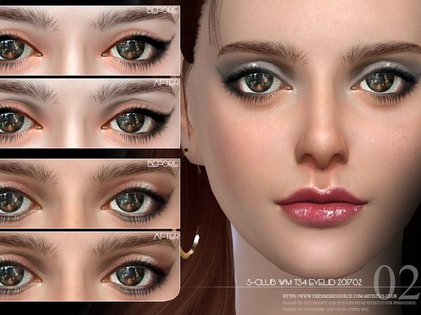 S Club WM ts4 Skin Detail Eyelid