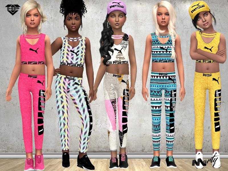 Sims 4 Clothing sets - 'child'