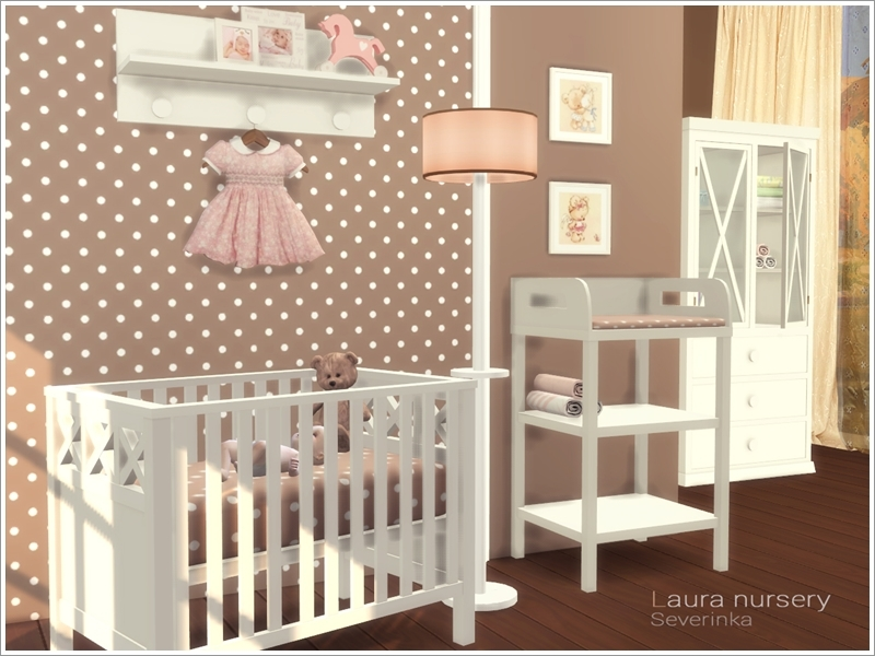 Laura nursery the sims 4 download simsdomination - Sims 3 babyzimmer ...