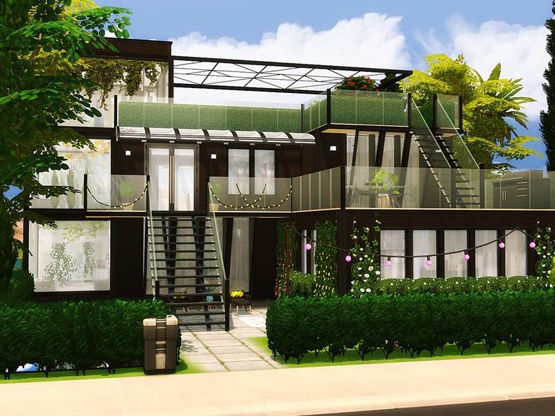 Mychqqq S Oasis Modern House