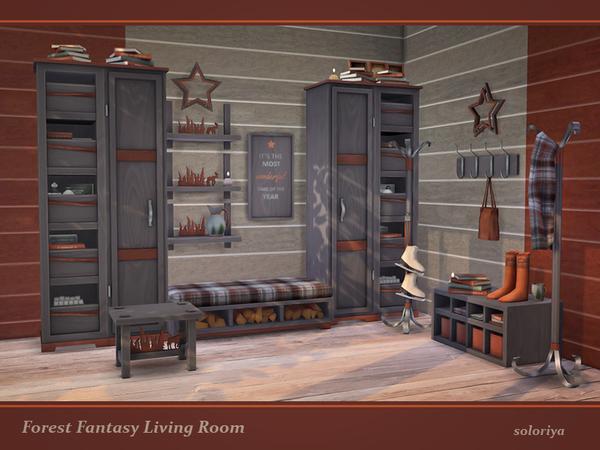 Forest Fantasy Living Room set