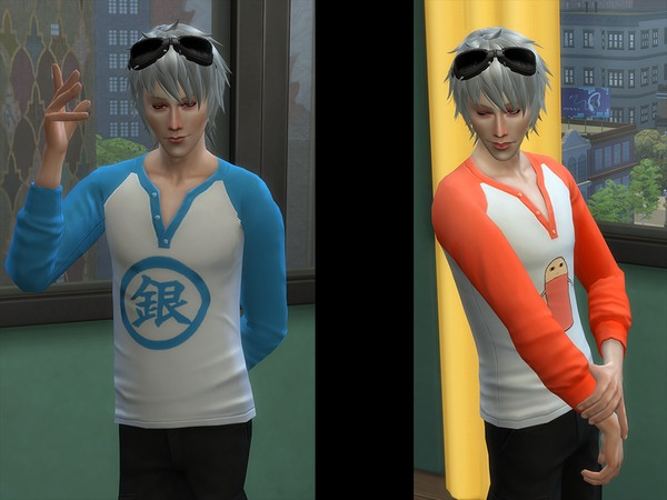 Gintama Graphic Shirts for Male