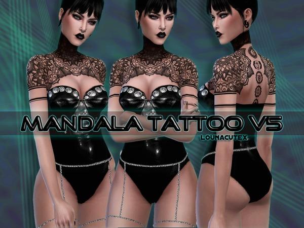 Mandala Tattoo V5   Lounacutex