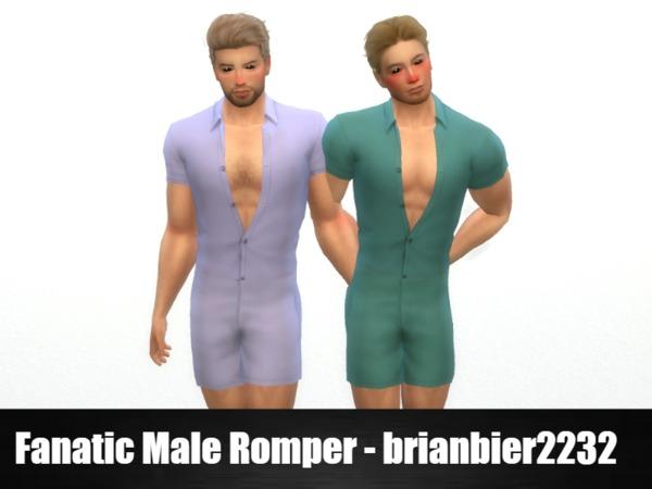 Fanatic Male Romper