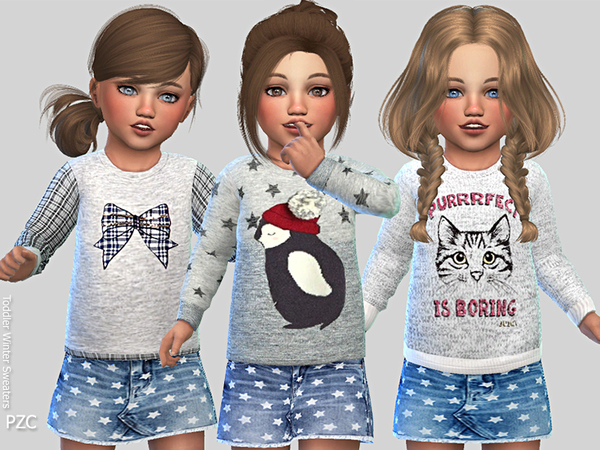 Toddler Winter Sweaters