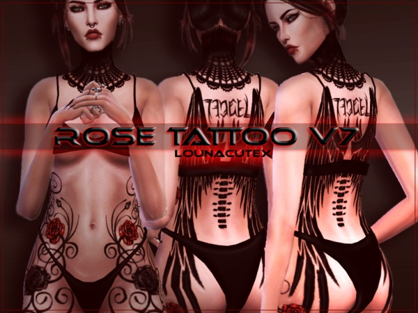 Rose Tattoo V7   Lounacutex