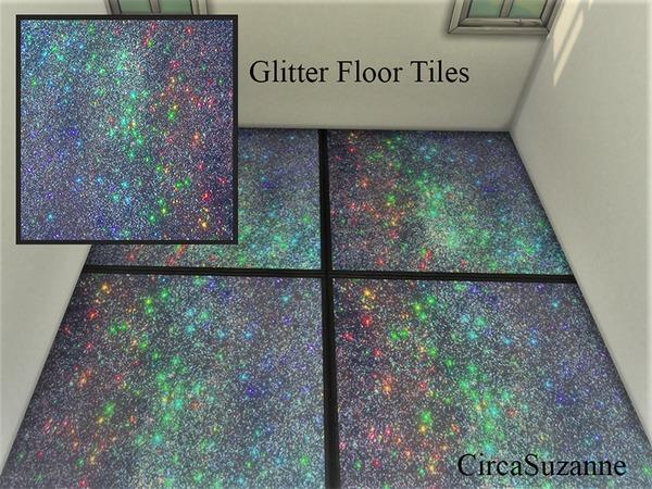 Circasuzanne S Galaxy Glitter Floor Tiles