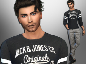 Sims 4 — Gerald Galvin by divaka45 — Look at the creator`s notes for the custom content which I have used. DOWNLOAD