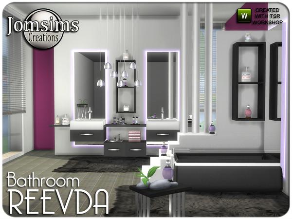 Jomsims 39 reevda bathroom for Bathroom ideas sims 3