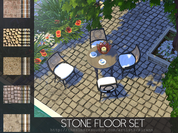 Stone Floor Set
