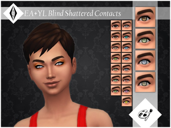 EA+YL Blind Shattered Contacts