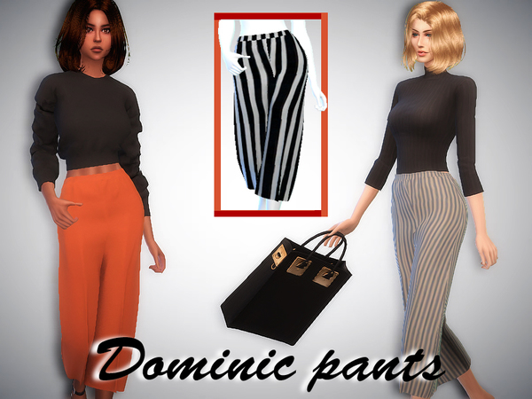 Sharareh: Dominic pants