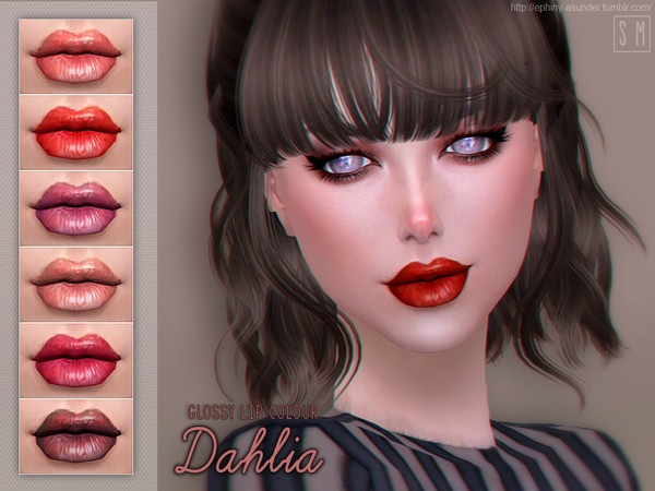 [ Dahlia ]   Glossy Lip Colour