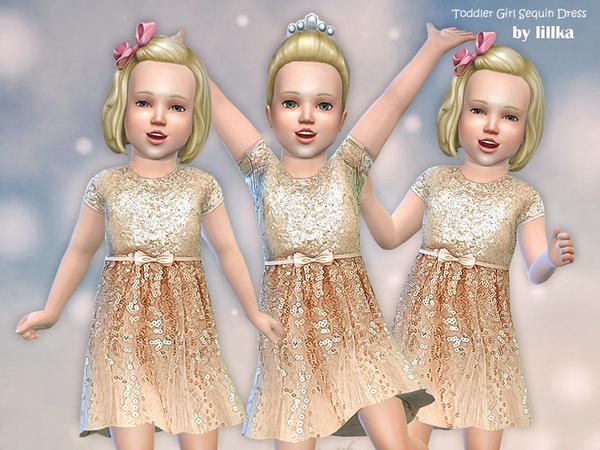 Toddler Girl Sequin Dress