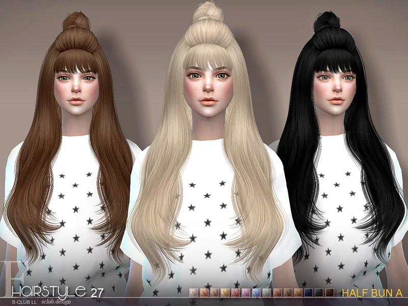 S Clubs Sclub Ts4 Hair Half Bun N27a