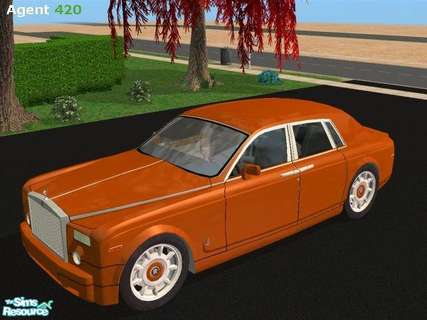 Agent420's Orange Rolls Royce Phantom V1.5