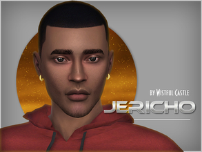 Sims 4 — Jericho Hall by WistfulCastle — Jericho is a character with the perfect sense of humor. He laughs all the time,