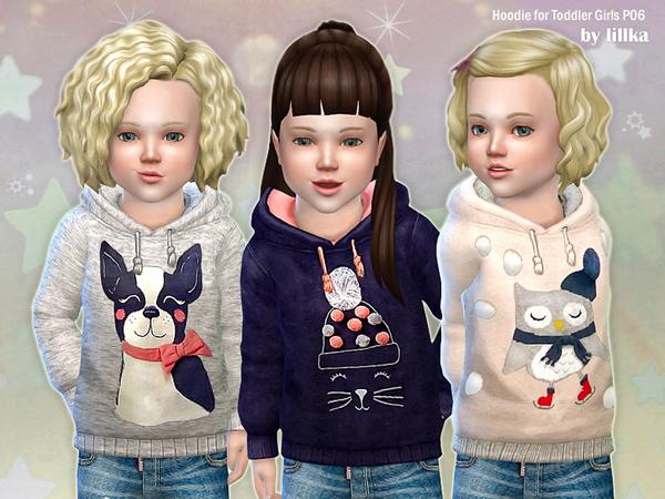 Hoodie for Toddler Girls P06