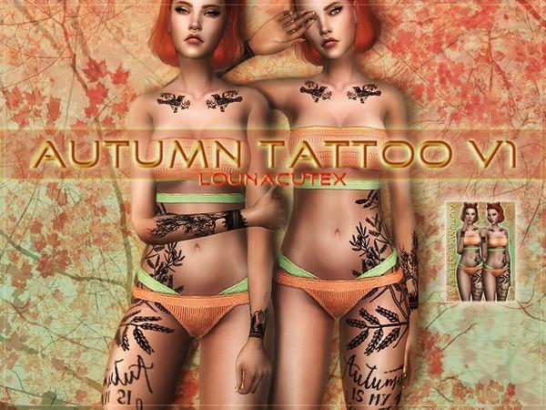 Autumn Tattoo V1   Lounacutex