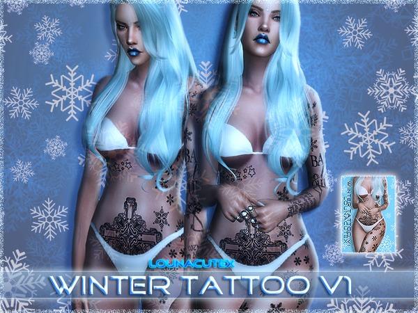 Winter Tattoo V1   Lounacutex