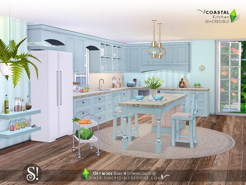 SIMcredible!'s Coastal Kitchen