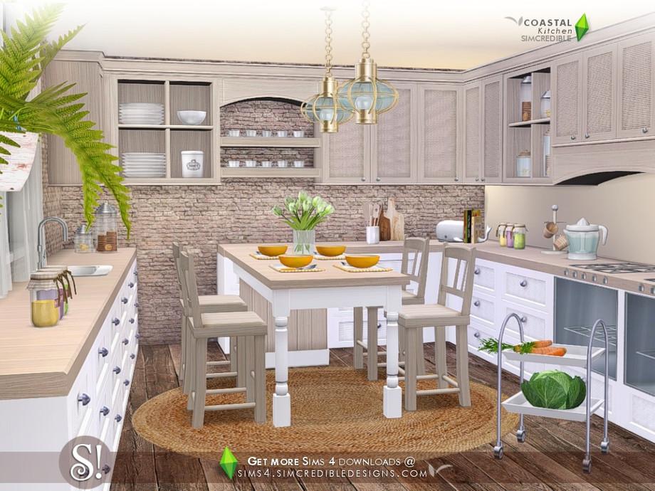 Simcredible S Coastal Kitchen