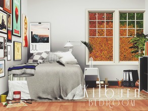 Sims 3 — Kilburn Bedroom by pyszny16 — This set in inspired my scandinavian style. If you are tired of everyday life when