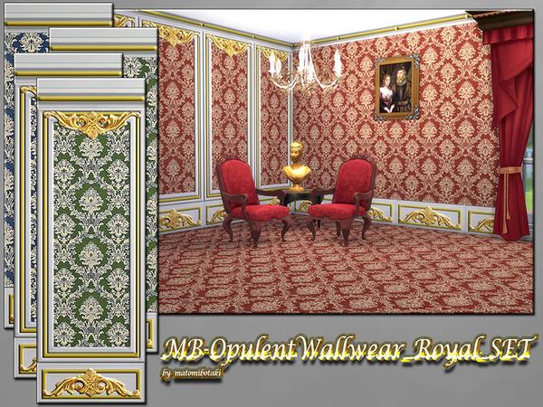 MB OpulentWallwear RoyalSET