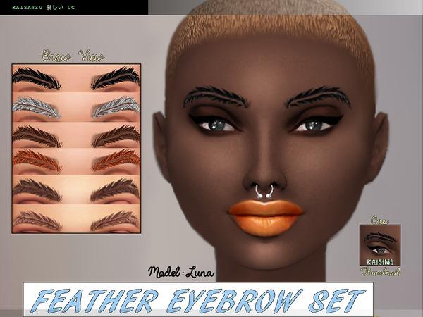 Feather Eyebrow Set