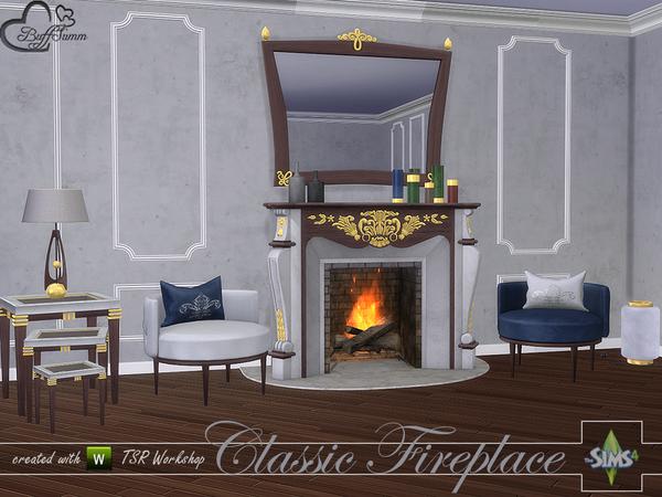 Classic Fireplace Set