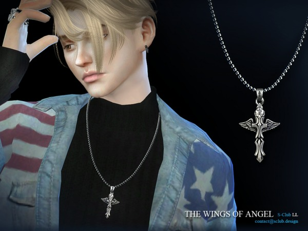 S Club LL ts4 necklace  M06