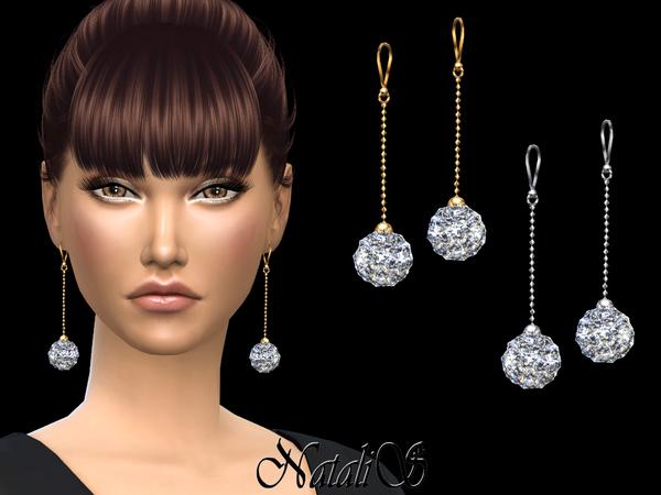 NataliS Disco ball earrings