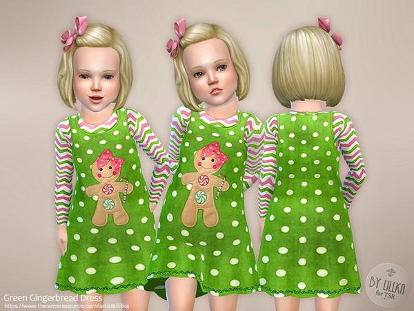 Green Gingerbread Dress