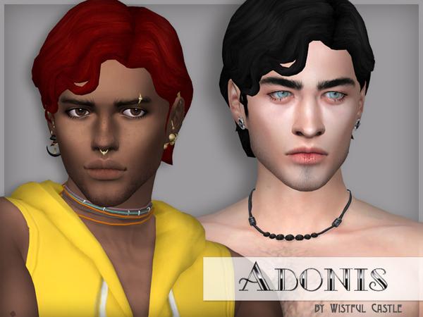 Adonis   male hair