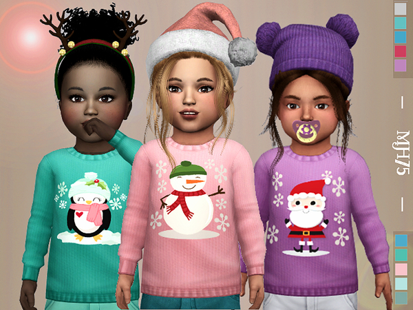 S4 Winter Kiss Sweaters