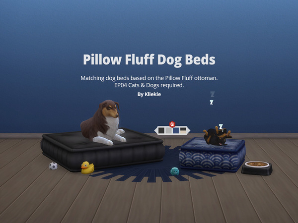 Kliekie S Pillow Fluff Dog Bed Large Requires Cats And Dogs