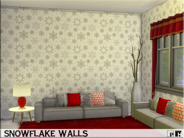 Snowflake Walls