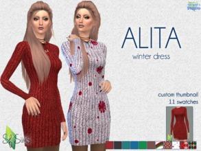 7a2d3ae54f19 ALITA dress - SF Sims - Mesh needed