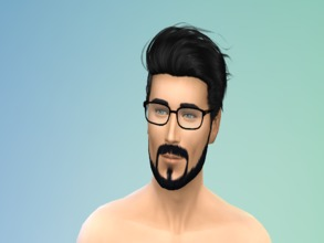 Sims 4 — Simple Male Sims by Hanmuhfaq — This is a simple creation of mine. His original name is Haze Spes but you can