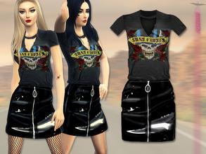 Sims 4 Clothing sets - 'grunge'