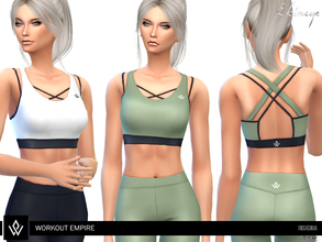 586785789b Sims 4 Clothing sets - 'workout'