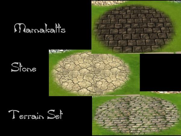 Mamakatts Stone Terrain Set