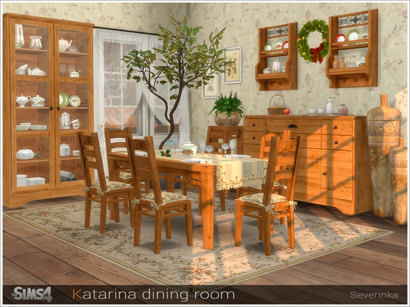 Severinka S Katarina Dining Room