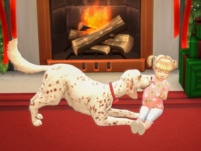 Sims 4 — Christmas Puppy Poses by KelpieDog — Imagine waking up Christmas morning and finding an adorable puppy under