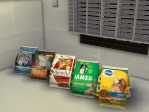 Sims 4 — Realistic Bags of Dog Chow-REQUIRES CATS & DOGS by xSarahsShadyx — Real brand name 20lb bags of popular dry