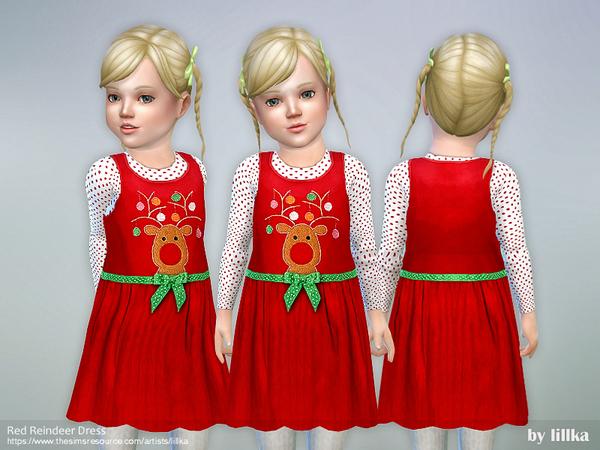 Red Reindeer Dress