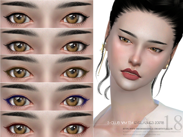 83d827908fb S-Club WM ts4 eyelashes 201718