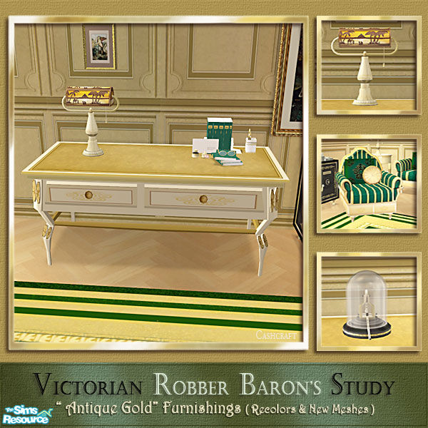 Cashcraft S Robber Baron S Study Library Table