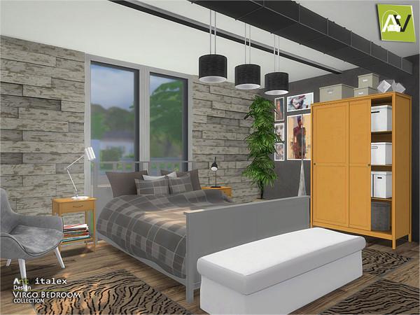 Virgo Bedroom